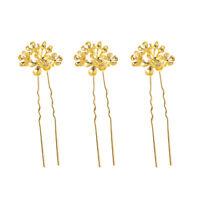 3pcs Wavy Hairpins Simple Decorative Hair Clip Accessories Headwear for Women