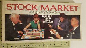 Stock Market Game  Whitman Publishing Company Incomplete