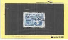Finland 1952 Parcel Post 50mk Blue Single VFU