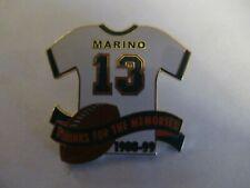 Miami Dolphins Pin Pinback Dan Marino Thanks for memories