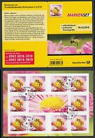 Bund Markenheftchen 89 gest. Bienen 2012  10 x Nr. 2799  selbstklebend ESST