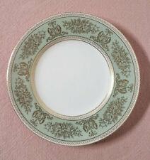 Vintage Wedgwood Columbia Gold Sage Green Rim Salad Plate