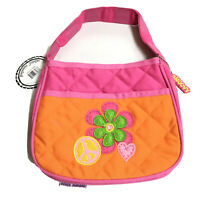 Stephen Joseph Quilted Purse Flower Heart Peace Sign
