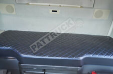 TRUCK BED COVER COMPATIBLE WITH VOLVO FH4 2013-2020  ECO LEATHER - -BLACK & BLUE