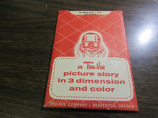THE MASK OF THE LONE RANGER - 1955 T-12 -  TRU-VUE PICTURE STORY IN 3D AND COLOR