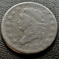 1808 Large Cent Classic Head One Cent 1c Rare Better Grade #20713