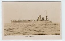 HMS NELSON: SHIPPING POSTCARD (C6295).