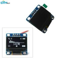 """DIYmall 0.96"""" Inch Serial 128X64 OLED LCD LED White Display Module for Arduino"""