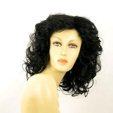 Parrucca donna semi lunga ricci nero : JAMELIA 1B