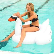 NEW Inflatable Giant Swan Floating Pool Toy Age 6+
