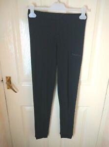 Womens Campri Base Layer Leggings Size 10 Black