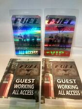 2018 Fuel backstage laminate All Access pass (4 total lot passes)