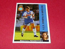 M. POCHETTINO ESPANYOL BARCELONA PANINI LIGA 95-96 ESPANA 1995-1996 FOOTBALL