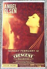 Angel Olsen 2017 Gig Poster Phoenix Arizona Concert