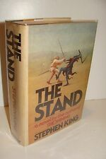 The Stand by Stephen King 1st/1st 1978 Doubleday Hardcover - Rare First Edition