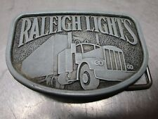 Raleigh Lights Truck Belt Buckle