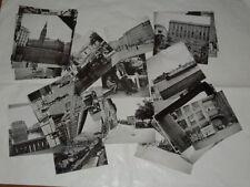 FOTOGRAFIE B/N ANNI 1950/60 BLOCCO DI 50 FOTOGRAFIE VARIE DI LUOGHI E LOCALITA'