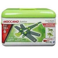 MECCANO Junior Toolbox Insect Mania Building Set