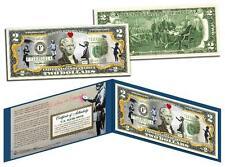 BANKSY * GIRLS * Colorized $2 Bill US Legal Tender Banknote Street Art Graffiti
