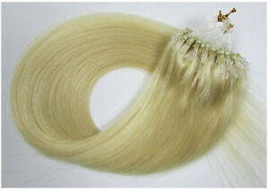 """New 18""""-26"""" Microtube Loop Ring Tube Remy Human Hair Extensions 50g&100g"""