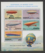 Penrhyn Islands   1983   Scott # 259a    Mint Never Hinged Souvenir Sheet