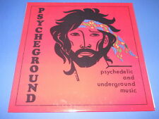 LP ITALIAN PROG THE PSYCHEGROUND GROUP - PSYCHEDELIC AND UNDERGROUND MUSIC