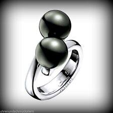 Modeschmuck-Ringe aus Sterlingsilber mit Perlen (Imitation) für Damen