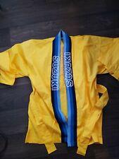 Suzuki Motor Company Karate gi top - RARE! - Made in Japan 100% Cotton Yellow