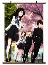 Hyouka Chitanda Eru Home Decor Poster Wall Scroll Anime 60*90cm