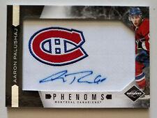 AARON PALUSHAJ 2011-12 Limited Rookie Phenoms Auto /299 Montreal Canadiens