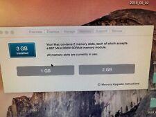 "Apple iMac 20"" Desktop - MA877LL/A (August, 2007) 320 GB and 3 GB RAM"