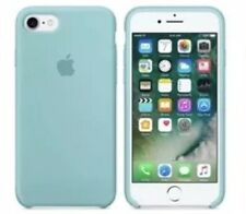 "Apple iPhone 7, 4.7"" turquoise Silicon Case Slim Great Handling Original Cover"