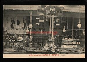 "SPAIN MADRID ""BAZAR X"" VISTA PARCIAL SHOP INTERIOR DOLLS KITES TOYS PC - SP96"