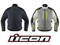 2020 ICON RAIDEN ARMORED / WATERPROOF MOTORCYCLE JACKET - PICK SIZE/COLOR