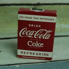 Coca-Cola Refreshing Playing Cards - USPCC - Coke OPENED AUCT#2865