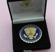 US Presidential Service Badge President Identification Badge with box-repro