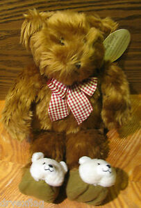 """VINTAGE 1999 Avon Exclusive KIDS PRAYING TEDDY BEAR 13"""" w TAGS NEW Tested Works"""