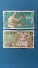 Sellos de España -1986 Europa Perfecto Estado (2 sellos)