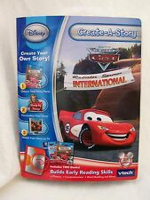 *Vtech Create-A-Story Book Disney CARS Radiator Springs