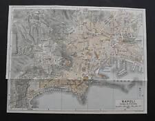Antica Stampa=Topografica=NAPOLI=Scala1:25000 -1909c.