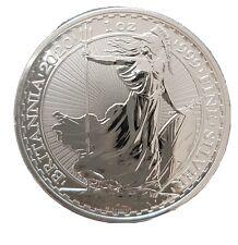 Britannia 2020 1oz Silver Bullion Coin In Capsule