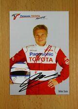 Mika Salo original Autogramm