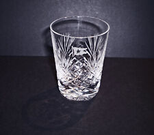 White Star Line, RMS Titanic, Hand Cut Crystal Shot Glass, 1912 Style Replica