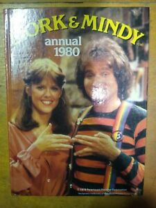 Mork and Mindy Annual 1980 Vintage TV Series Starring Robin Williams Hardback