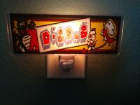 DIG DUG Arcade Marquee Night Light