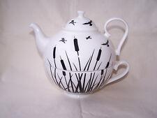 Tea for one aus Brilliantporzellan -  * Schilf *  ORIGINAL Jameson & Tailor