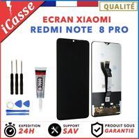 Ecran XIAOMI REDMI NOTE 8 PRO NOIR Vitre Tactile + Outils + Colle