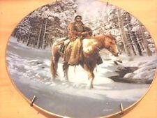 'Man Who Walks Alone Warrior, Hamilton Collection Plate