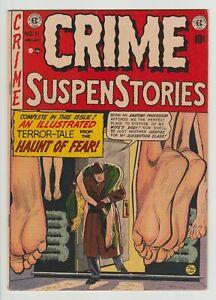 Crime SuspenStories #11 FN 1952 EC Comics Pre-Code Horror Golden Age