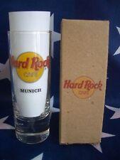 HRC Hard Rock Cafe Munich Classic Logo Black Letter Shot Glass Schnapsglas